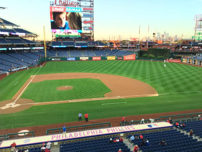 Day at the game: Citizens Bank Park