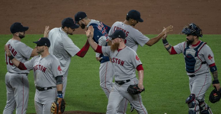 Balanced Red Sox offense carries them to the World Series