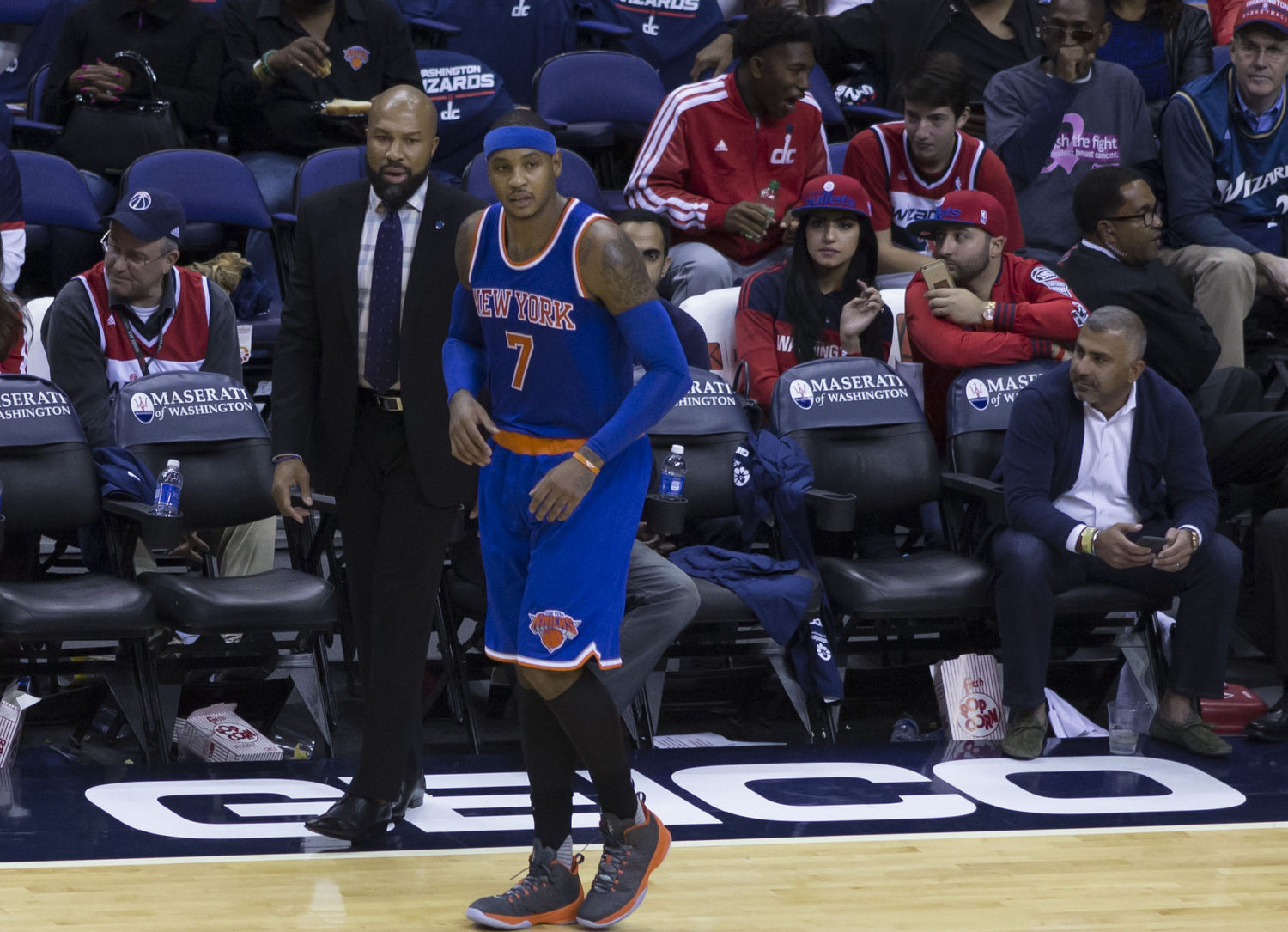 ed8ba5492f6 Why Carmelo Anthony should give up on his NBA career