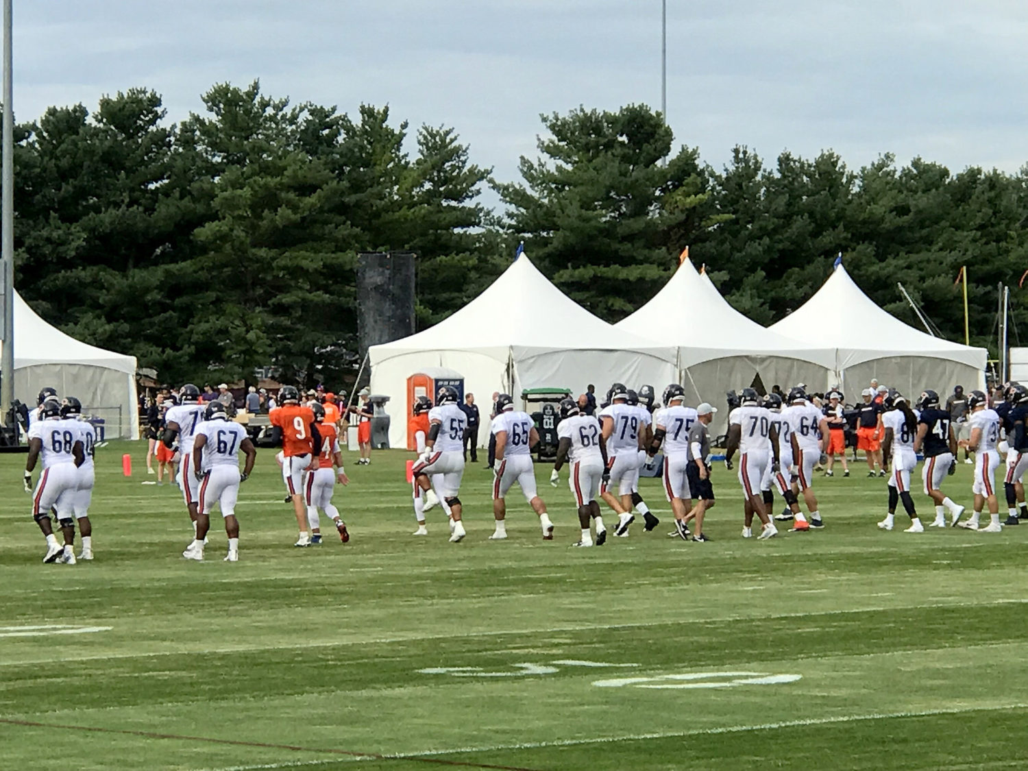 Chicago Bears summer camp