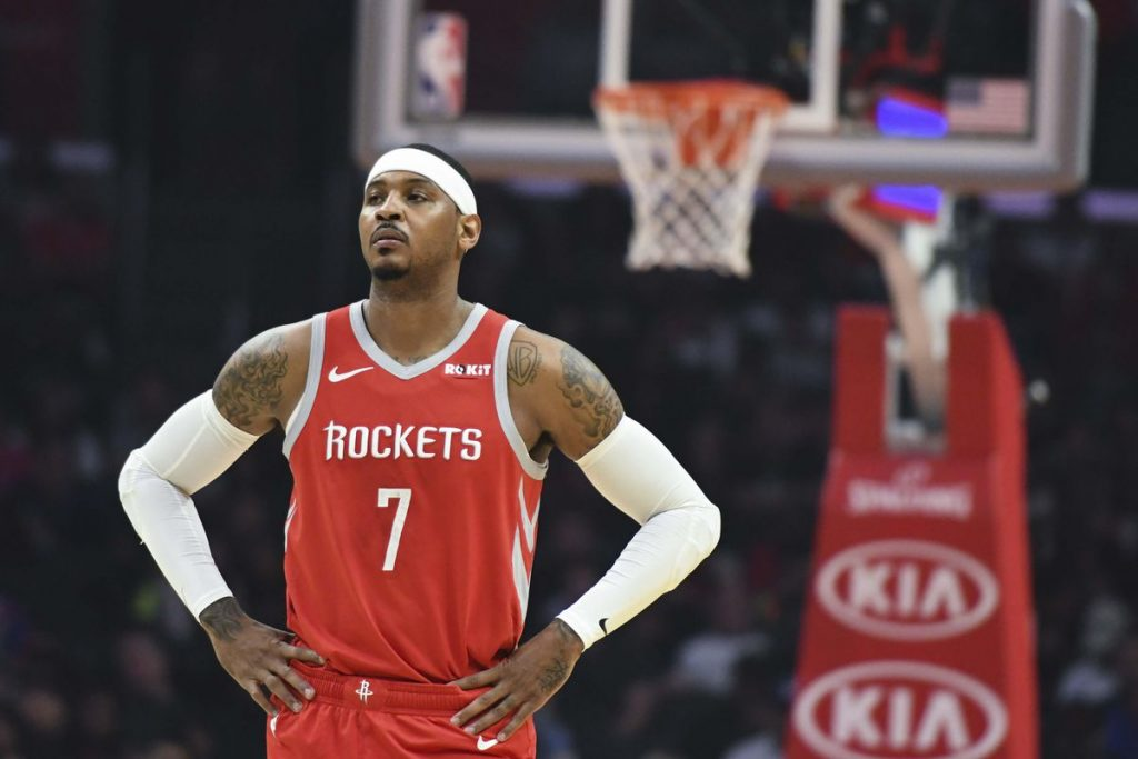 Rockets trading Carmelo Anthony to Bulls will send NBA's rumour mill into overdrive