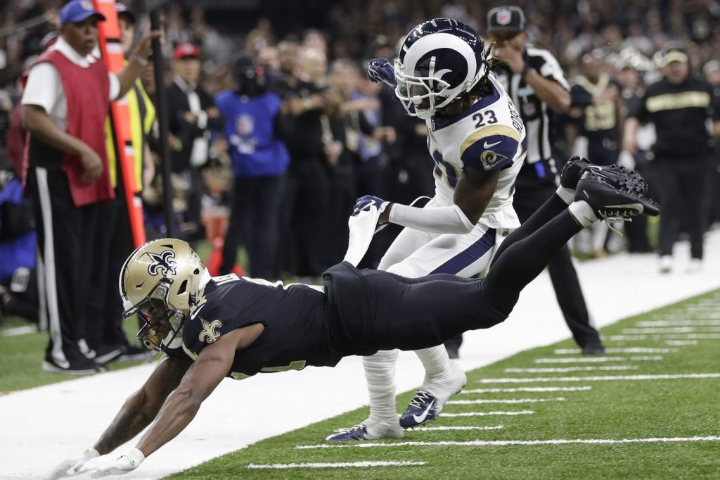Controversy overshadows thriller between Saints and Rams