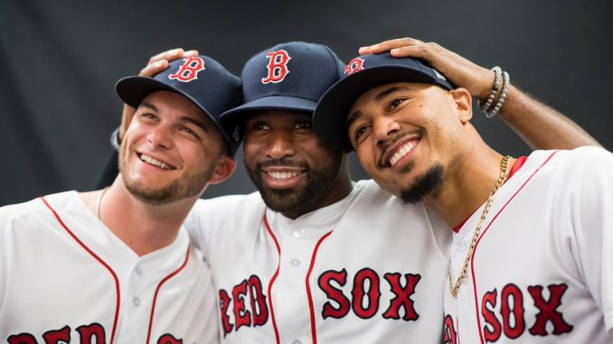 Red Sox outfield