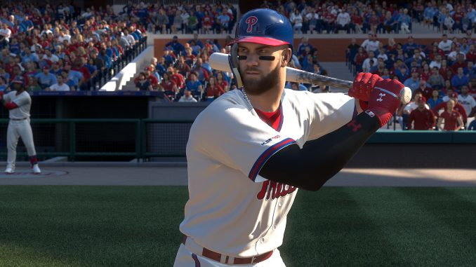 MLb The Show 19 Harper
