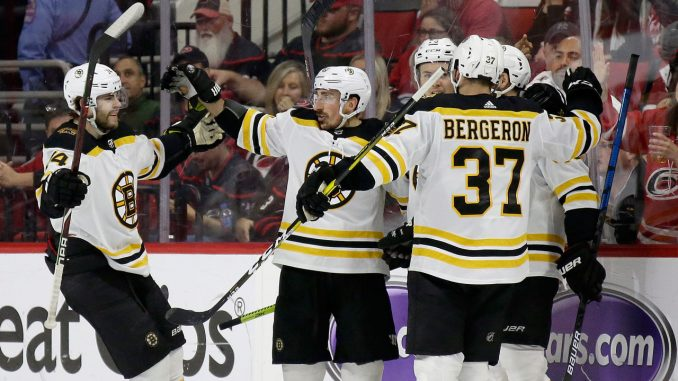 Bruins Hurricanes
