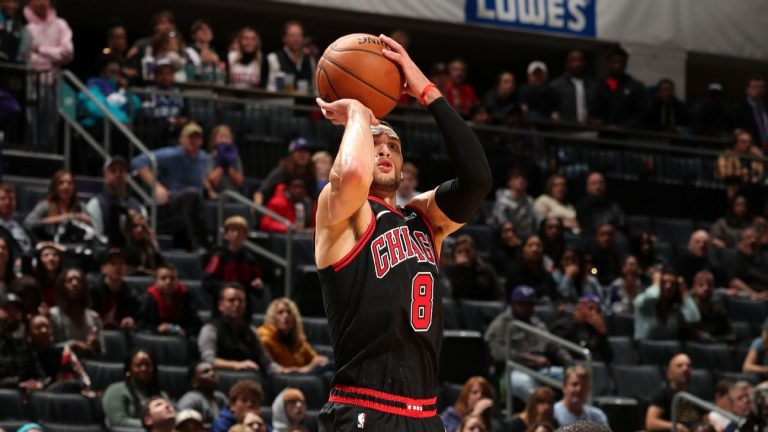 LaVine reminds NBA of his potential against Hornets but he's got a long way to go