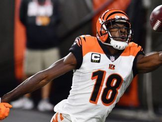 AJ Green makes catch