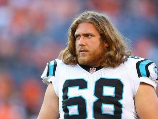 Andrew Norwell on the field