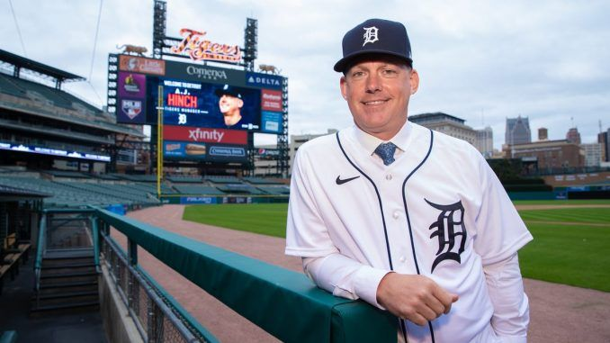 AJ Hinch unveiled as Tigers manager