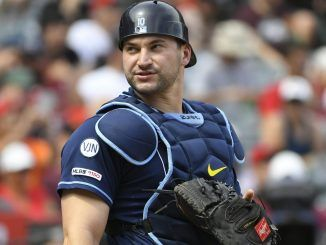 Mike Zunino for the Rays