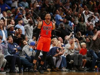 Russell Westbrook Nuggets buzzer beater
