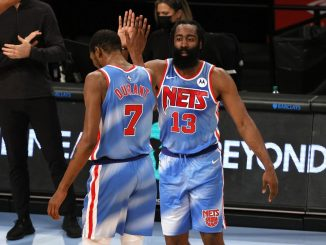 Harden and Durant Nets
