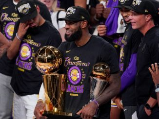 LeBron James wins fourth title