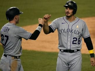 Nolan Arenado and Trevor Story