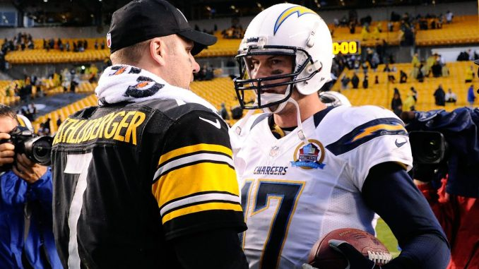 Philip Rivers and Ben Roethlisberger