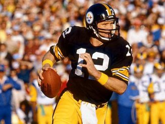 Terry Bradshaw in the pocket