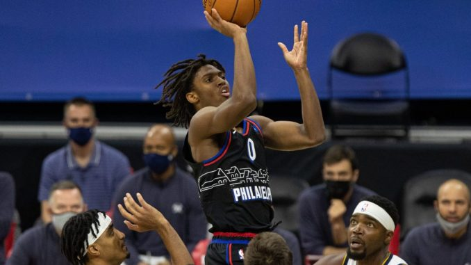 Tyrese Maxey vs Denver Nuggets