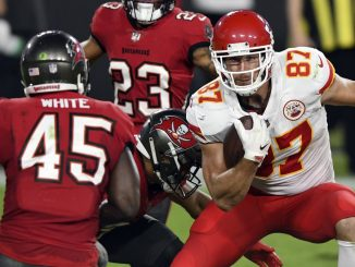 Travis Kelce vs Tampa Bay