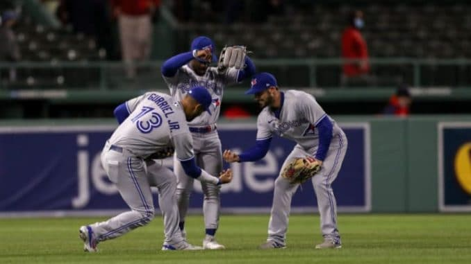 Blue Jays outfield