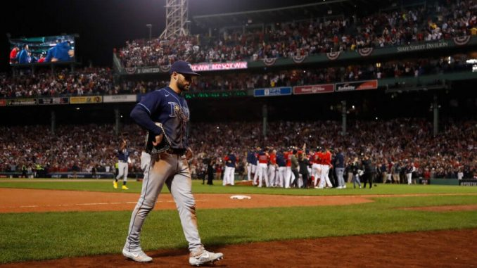 Rays lose to Red Sox